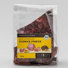 Bruchschoko Flower Power