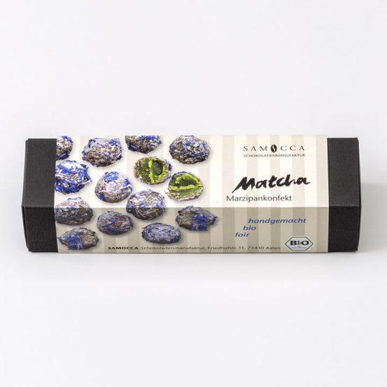 Marzipankonfekt Matcha