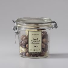 Nuss & Frucht mit Schokolade